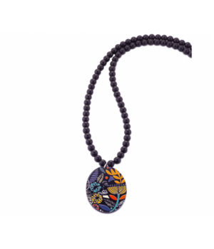 TB293 Pendant Oval Tribal Ball