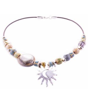 SL302 Choker Sun And Moon...
