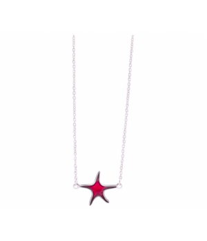 EST371 Choker Color Star Red